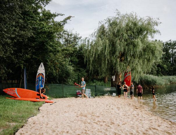 Plaża i Kąpielisko - Jezierzany - Kraina Dobrej Energii